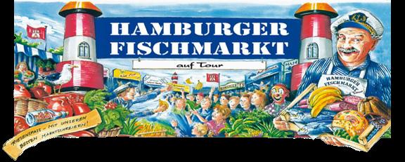 Hamburger Fischmarkt auf Tour